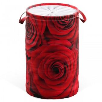 Laundry Basket Roses