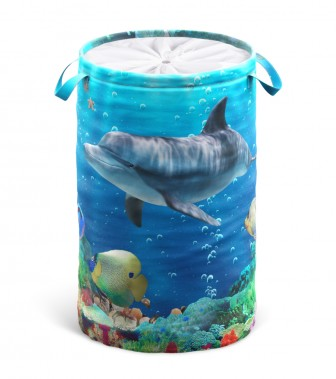 Laundry Basket Dolphin