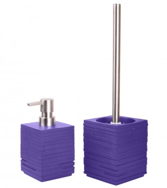 Bathroom Set Calero Purple