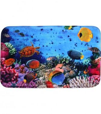 Bath Rug Ocean 70 x 110 cm