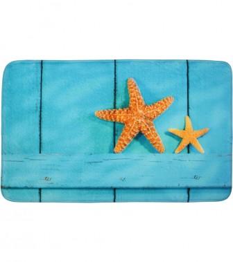 Bath Rug Starfish 70 x 110 cm