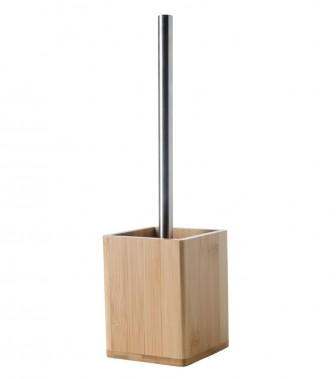 Toilet Brush and Holder Bamboo