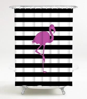 Shower Curtain Flamingo 180 x 200 cm