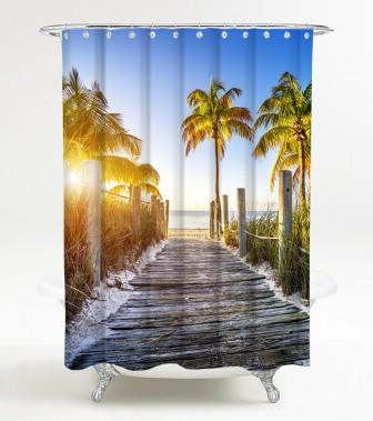 Shower Curtain Fort Lauderdale 180 x 200 cm