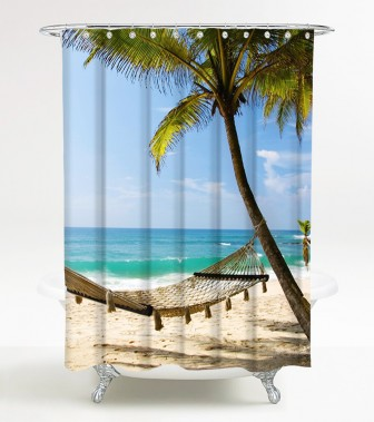 Shower Curtain Holiday 180 x 180 cm