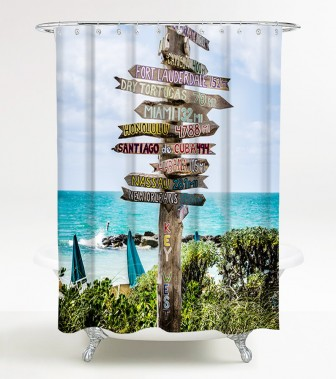 Shower Curtain Key West 180 x 200 cm