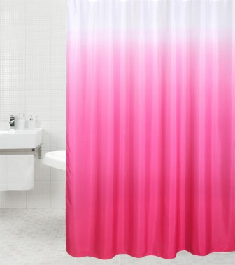 Shower Curtain Magic Pink 180 x 180 cm