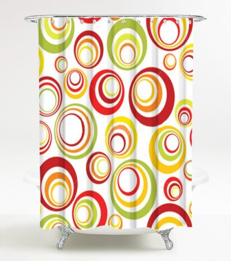 Shower Curtain Retro 180 x 200 cm