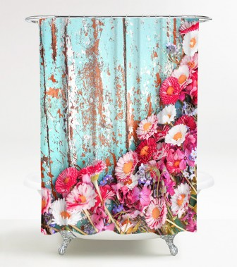 Shower Curtain Spring 180 x 180 cm