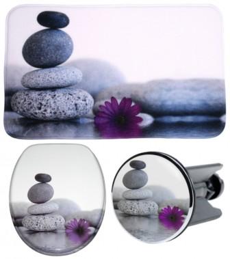3 Piece Bathroom Set Energy Stones