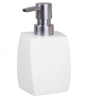 Soap Dispenser Wave White