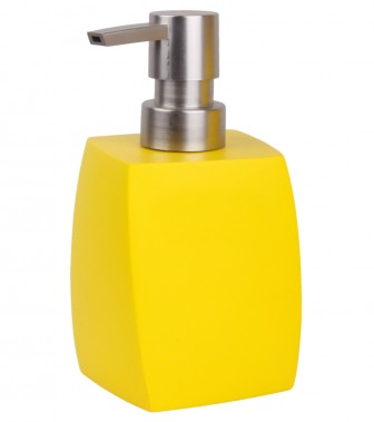 Soap Dispenser Wave Yellow