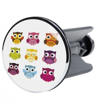Wash Basin Plug Owl