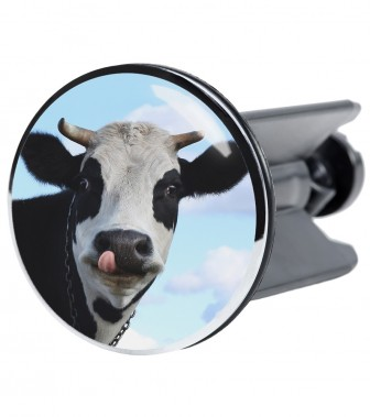 Wash Basin Plug Cow