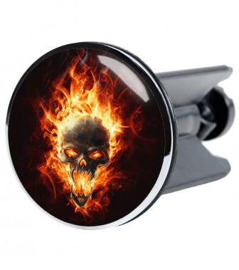Wash Basin Plug Skull