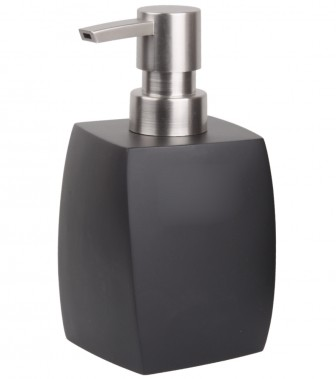 Soap Dispenser Wave Black