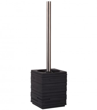 Toilet Brush and Holder Calero Black