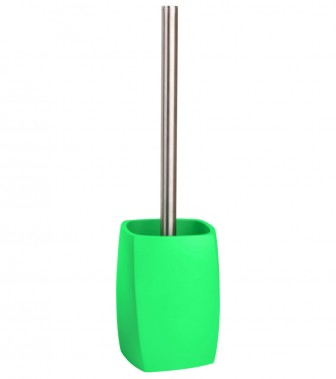 Toilet Brush and Holder Wave Green