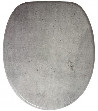 Soft Close Toilet Seat Concrete