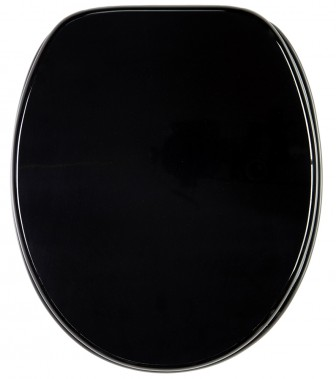 Soft Close Toilet Seat Black
