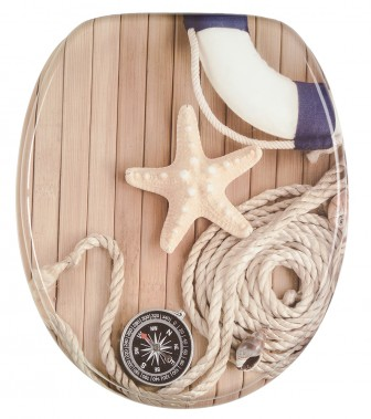 Soft Close Toilet Seat Maritime