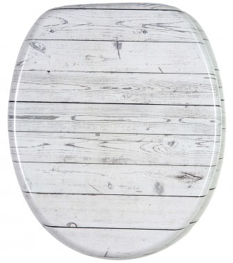 Soft Close Toilet Seat Timber