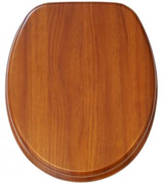 Soft Close Toilet Seat Mahogany