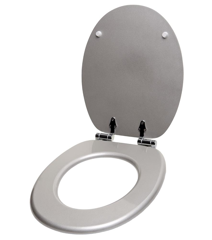 soft close toilet seat crystal silver. Black Bedroom Furniture Sets. Home Design Ideas