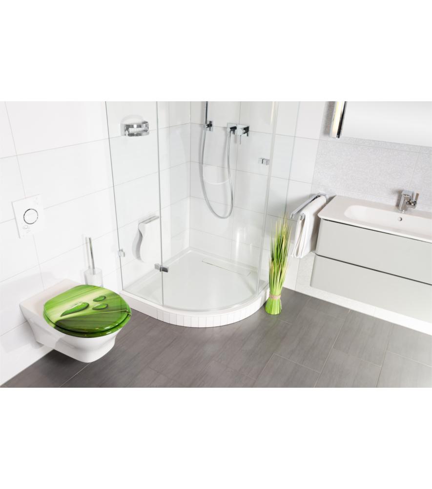 toilet seat green leaf. Black Bedroom Furniture Sets. Home Design Ideas