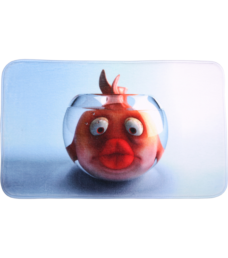 Bath Rug Goldfish 60 X 100 Cm
