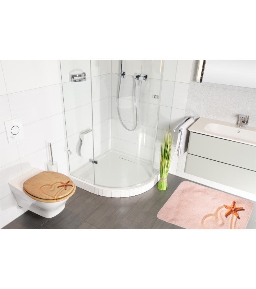 bath rug sandy 70 x 120 cm. Black Bedroom Furniture Sets. Home Design Ideas