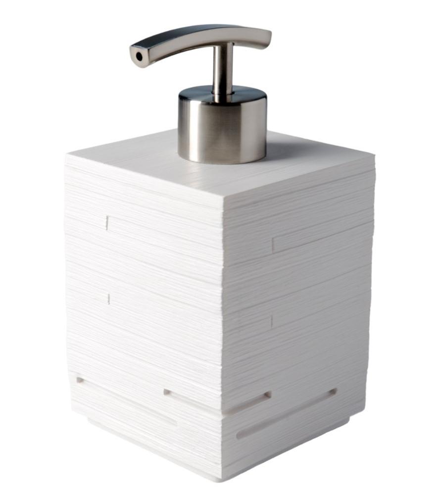 soap dispenser calero white. Black Bedroom Furniture Sets. Home Design Ideas