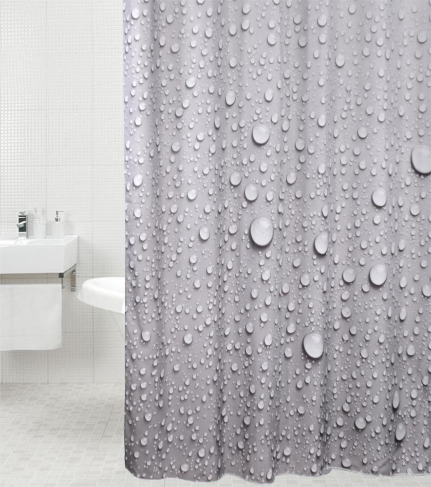 Shower Curtain Dewdrop 180 X 200 Cm