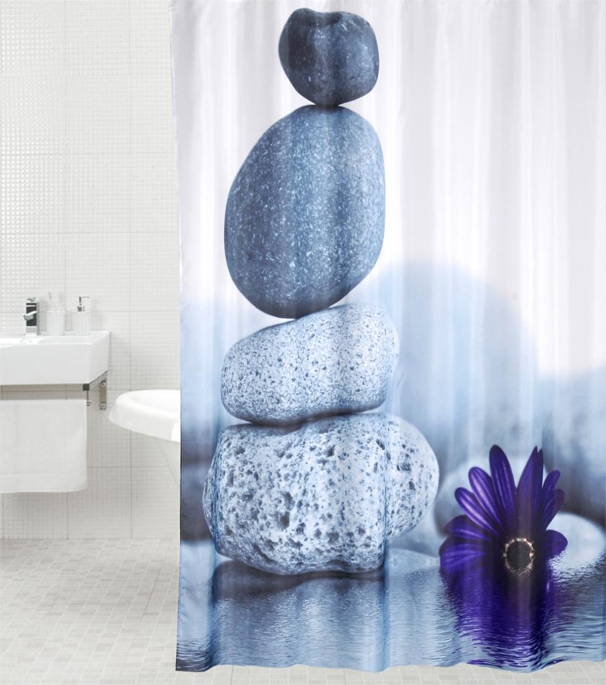 Shower Curtain Energy Stones 180 X Cm