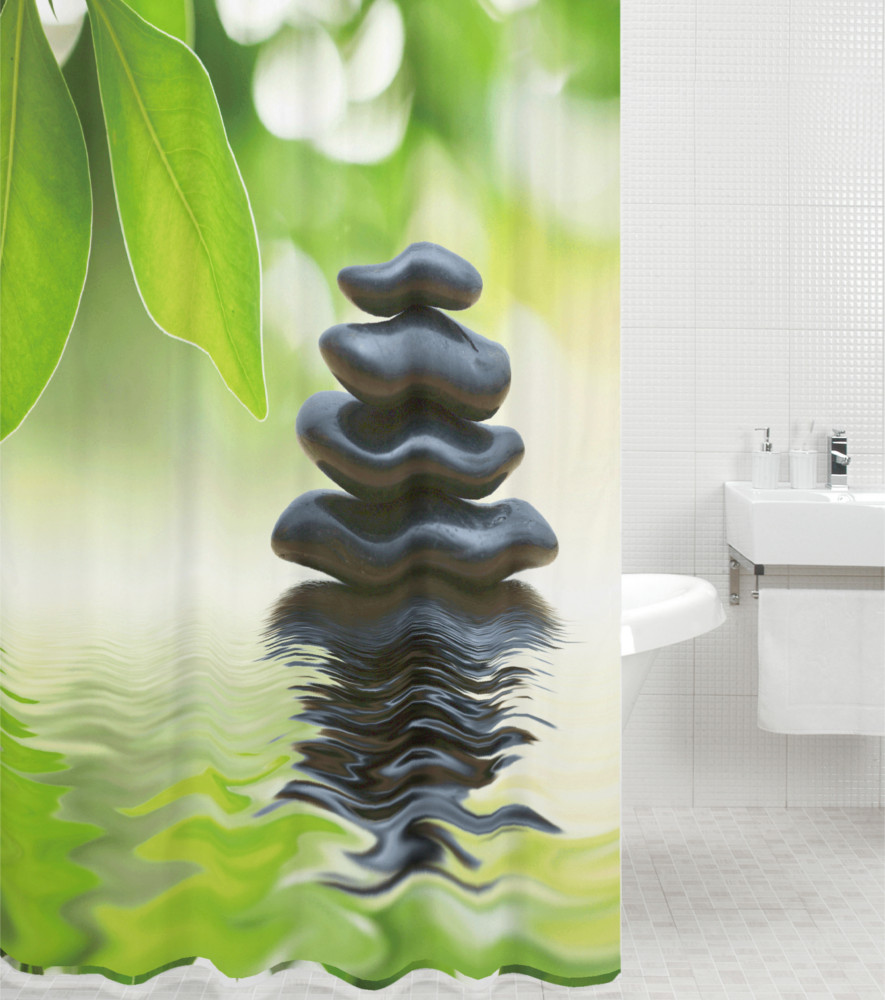 Shower curtain harmony 180 x 180 cm - Coole duschvorha nge ...