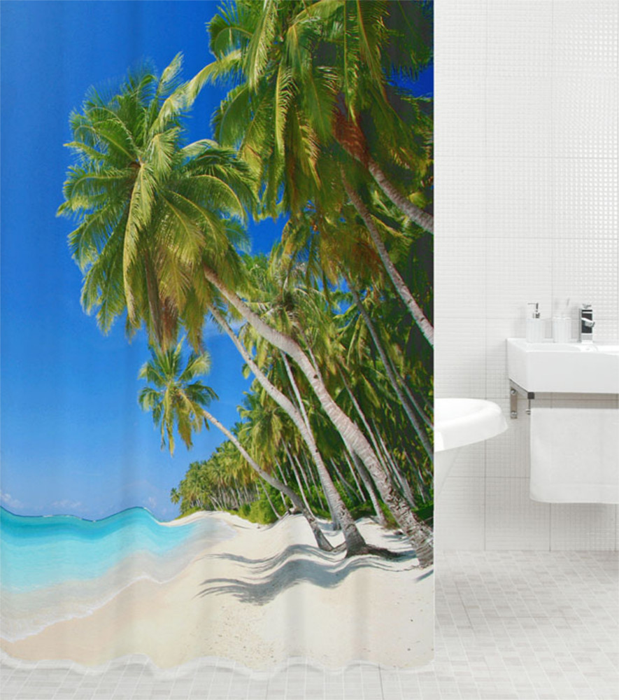 Shower Curtain Caribbean 180 X 200 Cm