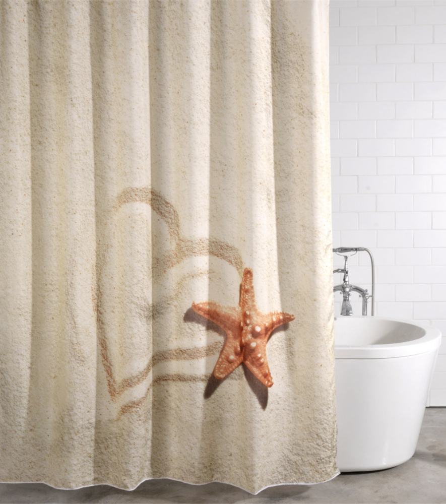 Shower Curtain Sandy 180 X 200 Cm