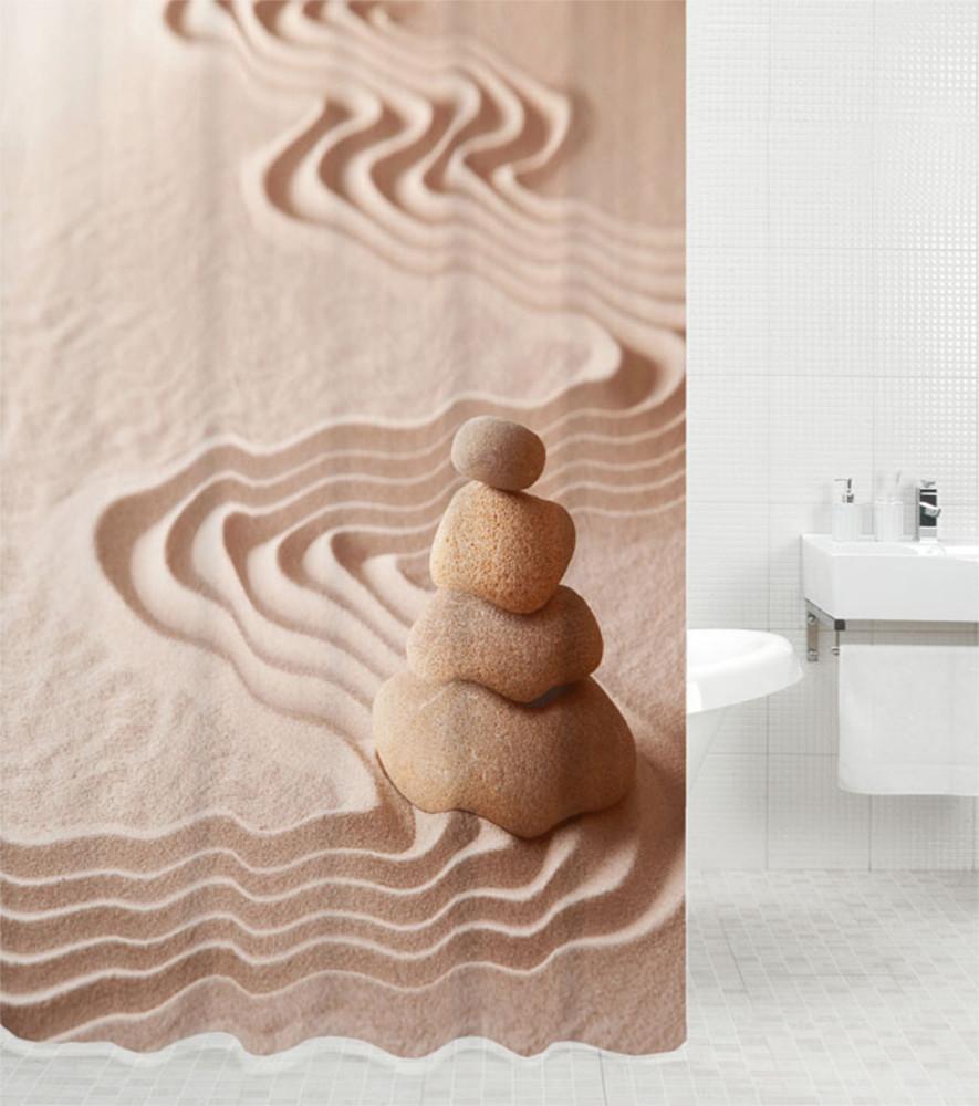 Shower Curtain Zen 180 X 200 Cm