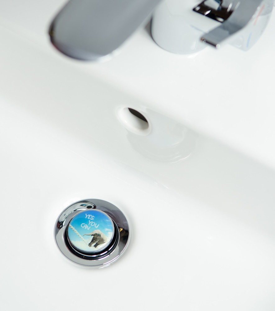 basin plug yes you can, Badezimmer ideen