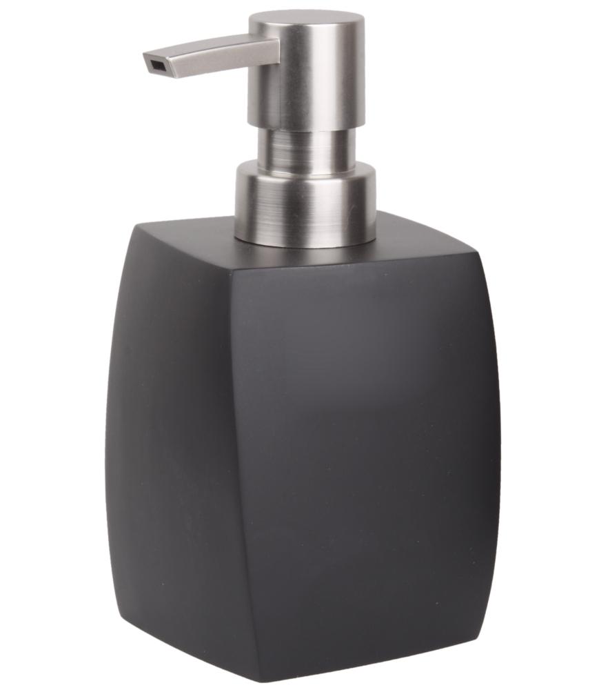 soap dispenser wave black. Black Bedroom Furniture Sets. Home Design Ideas
