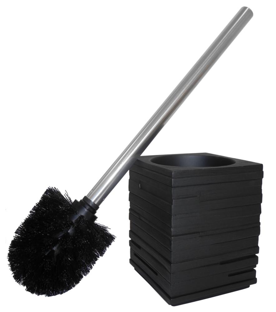 toilet brush and holder calero black. Black Bedroom Furniture Sets. Home Design Ideas