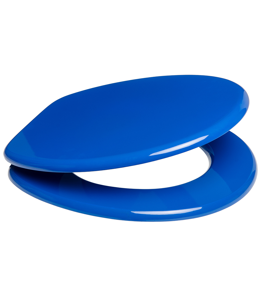 Close Toilet Seat Blue - Blue soft close toilet seat