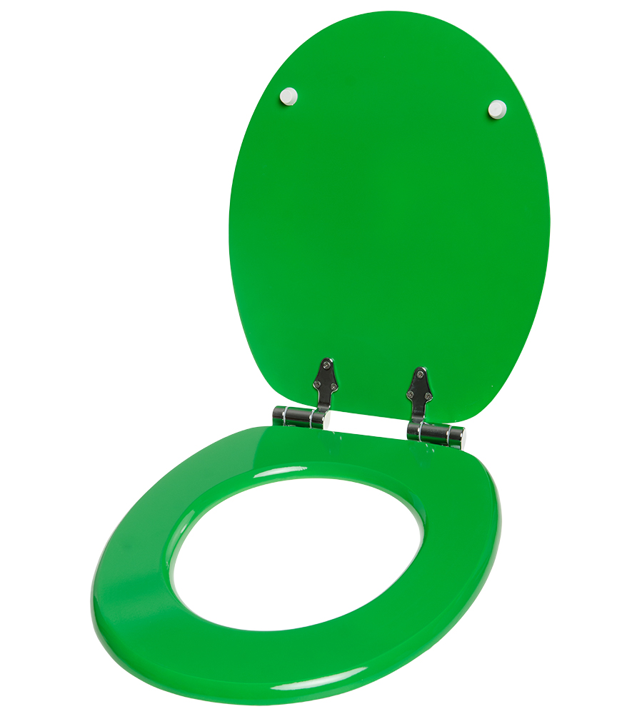 Soft Close Toilet Seat Green