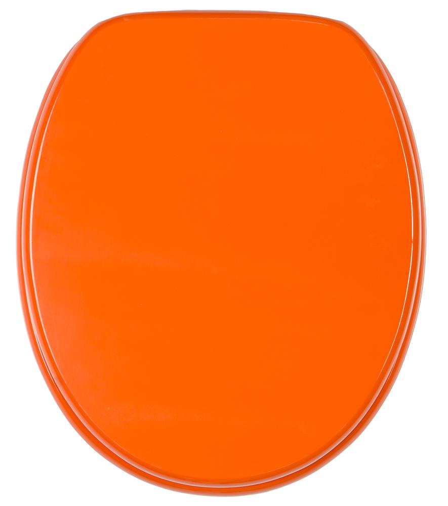 toilet seat orange. Black Bedroom Furniture Sets. Home Design Ideas