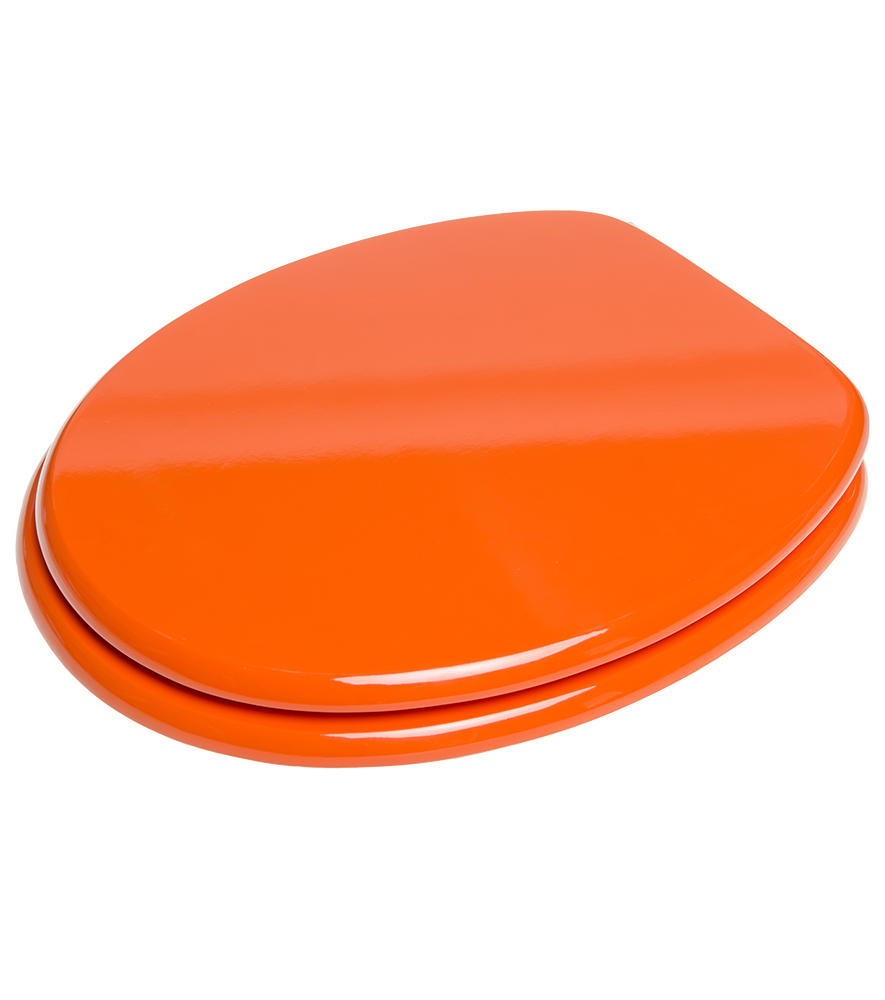 soft close toilet seat orange. Black Bedroom Furniture Sets. Home Design Ideas