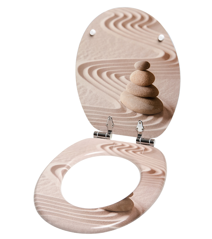 Toilet seat zen - Toilette ambiance zen ...