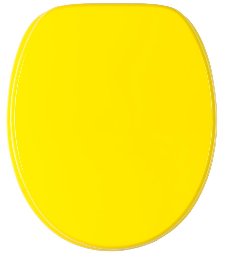 Toilet Seat Yellow