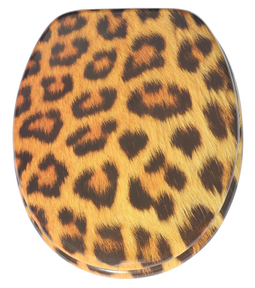 soft close toilet seat leopard. Black Bedroom Furniture Sets. Home Design Ideas