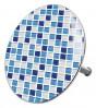 Bathtube Plug Mosaic Blue