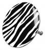 Bathtube Plug Zebra